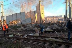 санкт-петербург, гатчина, россия, взрыв, завод, авангард, фото, видео, происшествия, жертвы, пиротехника