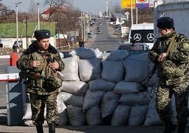 Луганск, луганская область, блокпосты, манекены