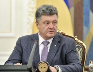 Порошенко, шахтеры, поздравление, Киев, Москва