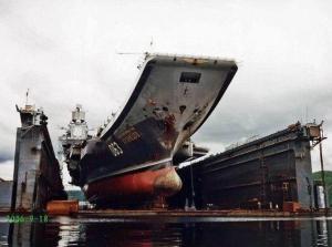 Россия, Происшествия, Авианосец, Адмирал Кузнецов, Потоп, Пробоина, причины
