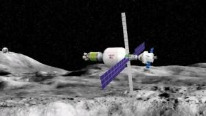 сша, космос, модуль, луна, прогресс