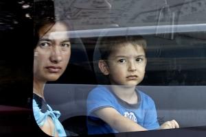 беженцы, переселенцы, Донбасс