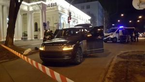 Украина, криминал, киев, полиция, убийство, покушение, соболев,  Брифинг, карабин