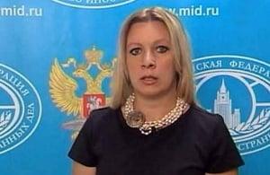 захарова мария, мид россии, политика, сша, анкции, дипломаты,визы