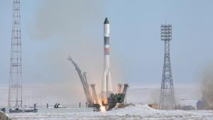 """Россия, Роскосмос, """"Прогресс МС-07"""", """"Союз 2.1А"""""""