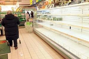 Павленко, пустые полки, супермаркеты, повышение цен, Березюк, кризис