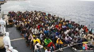 иммигранты, беженцы, италия, судно