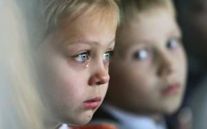 Дебальцево, дети, детский дом, блок-пост
