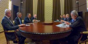 Россия, Путин, Помпео, Лавров, Переговоры.
