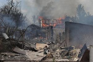 станица луганская, обстрел, мирные жители, погибшие, система отопления, электричество, газ