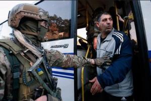 Донецк, ДНР, АТО, Донбасс, Нацгвардия, армия Украины, ВСУ, обмен пленными