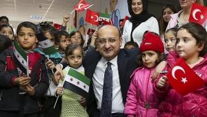 турция, сирия, война в сирии, беженцы, происшествия, общество, акдоган