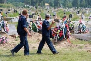 коммунар, макеевка, погибшие, похороны