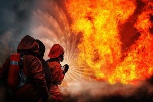 Днепропетровская область, МЧС, пожар, шахта, зерносушилка, Украина, общество