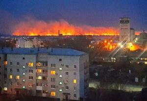 россия, чита, китай, общество, происшествие, пожар, забайкалье