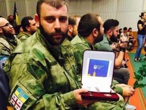 Мамука Мамулашвили, Украина, Грузия, луганская область, луганск, ато, война, армия Украины