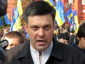 бандера, герой украины, тягнибок, факельное шествие