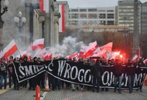 польша, день независимости польши, марш, акция, варшава, политика, украина, венгрия, италия, марш националистов