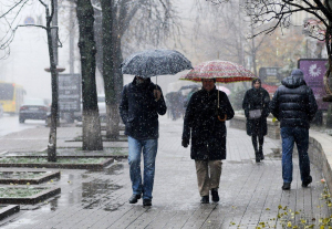 погода, Украина, прогноз, снег
