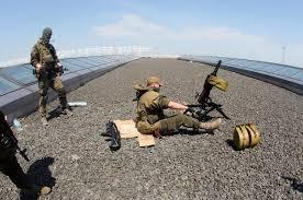 аэропорт Донецка, Донбасс, АТО, Нацгвардия, Украина, ДНР, ВСУ, армия Украины