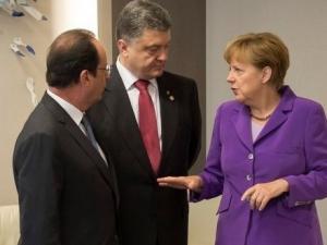 украина, порошенко, брюссель, франция, германия, евросоюз, олланд, меркель, туск