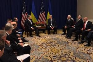 США, Украина, Порошенко, встреча 21 сентября, видео, политика, общество, Трамп, кадры, Нью-Йорк