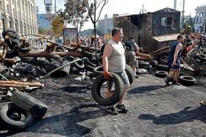 Киве, Майдан, общество, Кличко, баррикады