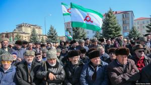 ингушетия, протесты, грузия, кремль, путин, новости россии, евкуров