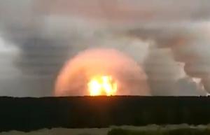 новости, Россия, Красноярский край, Ачинск, взрывы, пожар, военный склад, соцсети, фото, видео, атомный взрыв