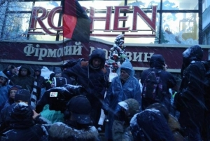 Roshen, саакашвили, сизо, киев, митинг, магазин
