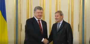 Петр Порошенко, президент Украины, политика, новости, Евросоюз, Саммит восточного партнерства, Йоханес Хан