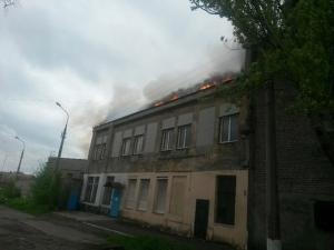 пожар, мариуполь, происшествия, восток украины, донбасс
