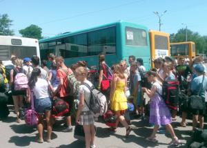 луганск, жители, город, выезд