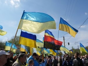 новости, украина, краматорск, митинг, общество, ато, донбасс, 17 апреля