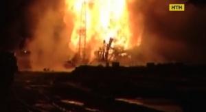 пожар, пострадавшие, ожоги, медицина, сургут, украинцы, нефтяная скважина, происшествия, чп, россия, новости украины