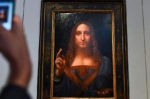 картина, леонардо да винчи, аукцион, спаситель мира, искусство