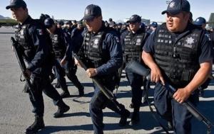 латинская америка, мексика, полицеские, наркокартель, засада, гибель, наркотрафик