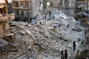 Сирия, Алеппо, ракеты, больница, обстрел, оппозиция
