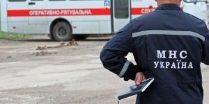 Пожар в Украине, МНС Украины