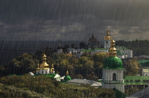 непогода, гроза, ветер, Киев, погода в Киеве