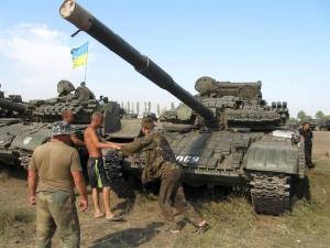 новоазовск, террористы, танки, провокация