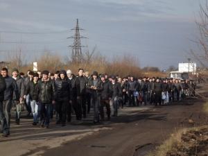 Червоноград, шахтеры, забастовка, не выплачивают зарплату, перекроют дорогу