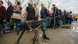 луганск, пенсия, лнр, донбасс, украина, блокпосты, пенсионеры, днр