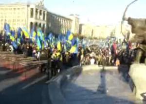 тягнибок, свобода, марш славы, киев, общество, происшествия, новости украины, политика