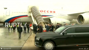 Россия, политика, путин, визит, Франция, лимузин