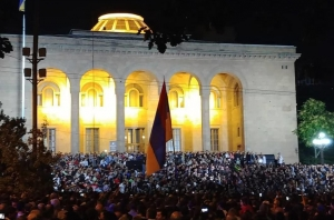 армения, ереван, митинг, пашинян, скандал, саргсян
