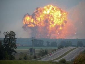 Украина, Ичня, Боеприпасы, Взрыв, Молокозавод, Сгущенное молоко, Автовокзал, Завод, Степанченко