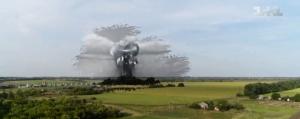 Першотравневое, Крестище, ядерный взрыв, газовое месторождение, пожар, факел