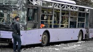 троллейбус, восток украины, донецк, днр,, донбасс, происшествия