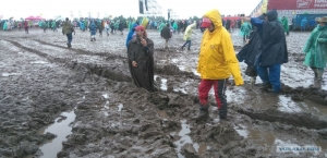 Нашествие, погода, грязь